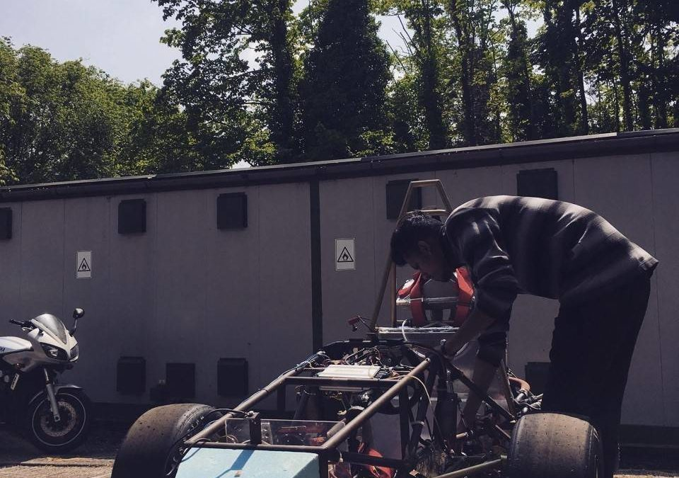 Syed's road to the pinnacle of motorsport