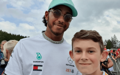 Kai Bachini – an inspirational and hugely talented 12 year old hoping to become the youngest presenter in F1!