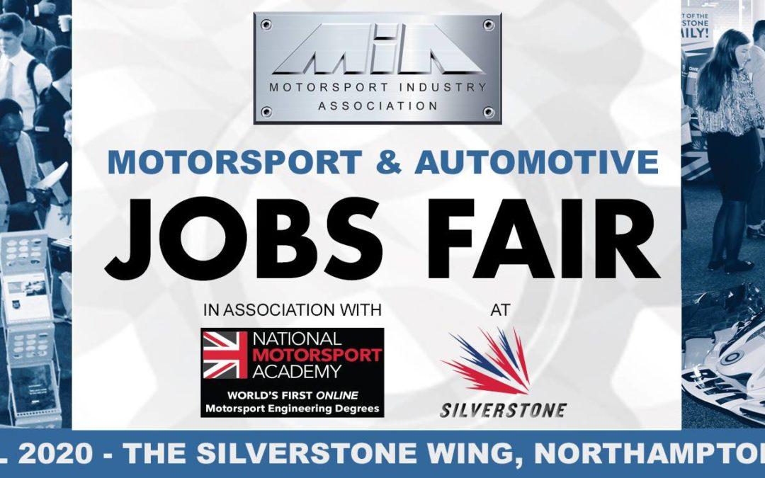 MIA Motorsport and Automotive Jobs Fair