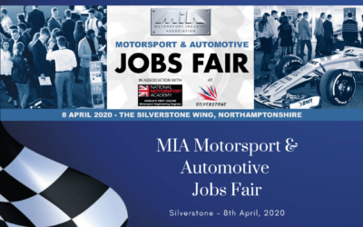 MIA Motorsport and Automotive Jobs Fair – Silverstone, April 2020 – Now Postponed until October 2020