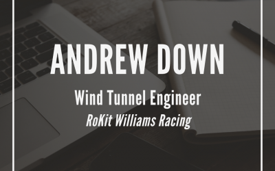 Andrew Down, Wind Tunnel Engineer, RoKit Williams Racing