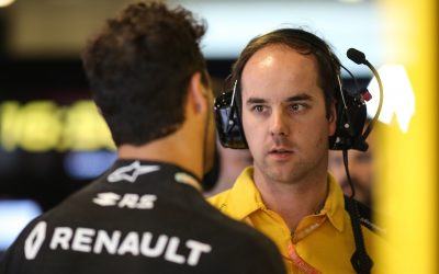 Karel Loos, Race Engineer, Renault F1 Team