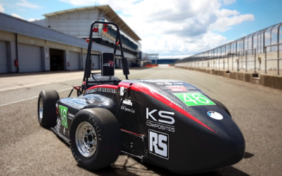 Formula Student is providing Ewan with the perfect experience for a future career in F1