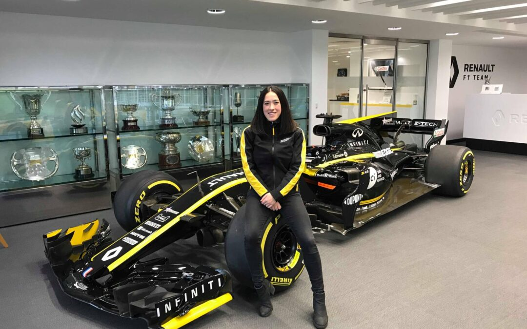 Simone Briggs shares her inspiring journey as she carves out a path into F1