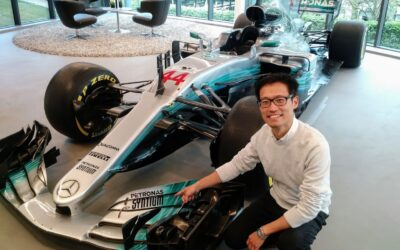 Won Ju, Composite Design Engineer, Mercedes AMG Petronas Formula 1 Team