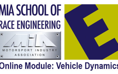 Learn Vehicle Dynamics with the MIA School of Race Engineering – Online course Sept 5th, 2020