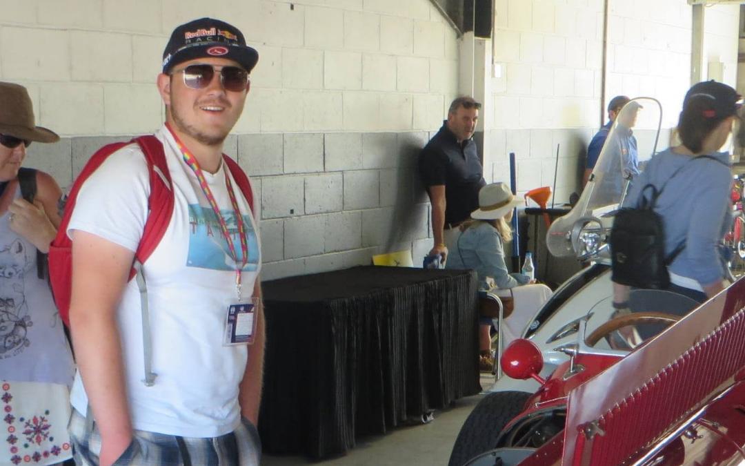 """Future Faces of F1?"" –  The Student Series – Dan Morris"
